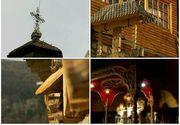 Schitul inchinat Sfantului Iacob, singurul locas ortodox de rit vechi din Dambovita! Frumusetea de la poalele Bucegilor transforma acest loc intr-unul de poveste