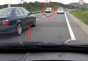 Spaima pe care a trait-o o soferita pe un drum din Romania! A fost prinsa intre doua depasiri extrem de periculoase!