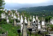 Cum sunt speriati oamenii intr-un cimitir din Buzau! Mesajul scris la un mormant suna a blestem
