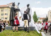 """Episcopul maghiar Marton Aron, a carui statuie a fost dezvelita la Miercurea Ciuc, este considerat de istorici """"un dusman neimpacat a tot ce este romanesc""""! Statuia a fost finantata de statul roman"""