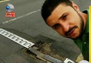Reportaj marca Stirile Kanal D! Cum se fac reparatiile la Podul Grant si cat dureaza sa astupi o groapa