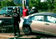 Accident teribil in Iasi! Patru masini au fost spulberate in trafic, o persoana si-a pierdut viata!
