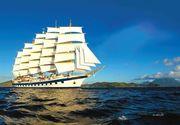 Una dintre cele mai luxoase nave din lume ajunge pentru prima data si in Romania