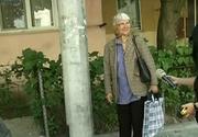 Stalpi in mijlocul trotuarului, in Craiova