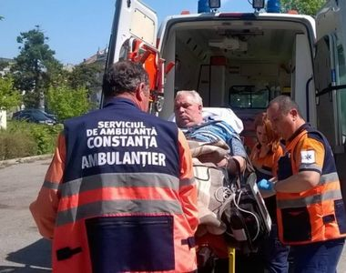 La o zi dupa ce a fost arestat, Nicusor Constantinescu a fost transportat la...