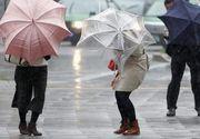 Vremea se inrautateste: cod galben de ploi in 35 de judete, inclusiv Bucuresti, incepand de marti