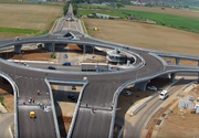 Primul sens giratoriu suspendat din Romania se inaugureaza sambata!