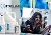 Flori Dinu a fost plasata in arest la domiciliu! Sefa Hexi Pharma a marturisit ca stia de diluarea dezinfectantilor vanduti in spitale!