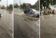 Prapad la Constanta! Mai multe strazi au fost inundate in urma unei ploi torentiale! Imagini din oras!