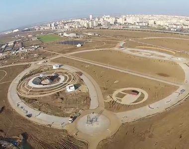 Da, este in Romania! Autoritatile au inaugurat un parc, dar acesta arata deplorabil!...