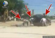 Un angajat de la drumuri din Craiova, cautat de politisti. Barbatul a vandut borduri de pe strada unor indivizi