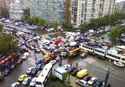 Restrictii de trafic in Bucuresti din cauza mitingului profesorilor