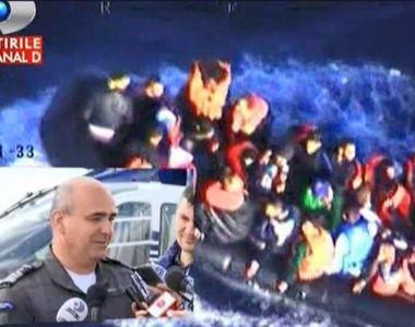 Pilotii romani care participa la actiunile de salvare in Marea Egee fac marturii...