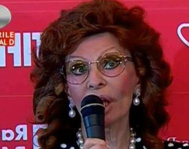 Sophia Loren uimeste cu frumusetea ei la cei 81 de ani. Diva a atras toate privirile la...