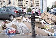 Cu gramada de gunoi in centrul Capitalei, chiar inainte de alegeri. Bucurestenii trec zilnic pe langa un morman de resturi. Autoritatile insa nu par deloc deranjate