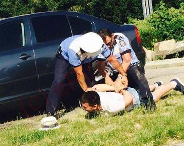 A fost prins stationand ilegal si tot el i-a luat la ocara pe politisti. Agentii nu...