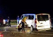 Accident grav la Constanta in care a fost implicat cu microbuz al Jandarmeriei Romane. Noua persoane au fost ranite