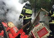 Primele concluzii ale anchetei privind prabusirea elicopterului SMURD in Republica Moldova. La mansa aeronavei se afla pilotul mai tanar. Accidentul ar fi fost inregistrat de o camera aflata la bord