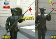 O statuie din Alba a fost vandalizata! Politia incearca sa dea de urma celor responsabili!