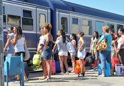 CFR Calatori a lansat programul estival de transport Trenurile Soarelui. 40 de trenuri vor asigura legaturi din toata tara catre litoral. Cat costa un bilet