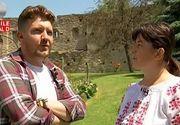 Bijuteria medievala din judetul Alba. Cetatea Calnic, melanj extraordinar de piatra, putin lemn si verdeata