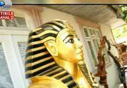 Un iscusit mestesugar din Iasi a recreat Masca lui Tutankhamon. Iata cat de talentat este moldoveanul