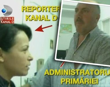 Echipa Stirilor Kanal D, bruscata de administratorul primariei orasului Bals. L-a dat...