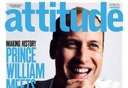 Printul William apare pe coperta unei reviste pentru homosexuali din Marea Britanie!