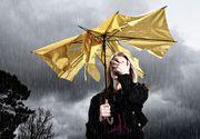 Cod galben de ploi si vijelii in 27 de judete din Romania!