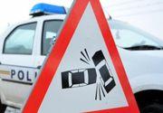 Noua persoane au fost ranite, dupa ce un autoturism a lovit un microbuz. Conform primelor cercetari, accidentul s-a produs din cauza oboselii