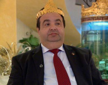 """""""Regele"""" rromilor, Dorin Cioaba, vrea sa-i stranga la Sibiu pe toti politicienii..."""