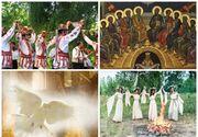 Rusaliile sau Pogorarea Duhului Sfant. Traditii si obiceiuri. Ce semnifica aceasta sarbatoare pentru credinciosii romani