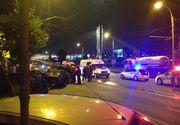 Accident groaznic in Capitala, noaptea trecuta. Un barbat baut a intrat cu masina in cinci autoturisme parcate