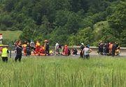 """Marturii terifiante din autocarul """"mortii""""! Tinerii raniti in accidentul de vineri de la Brasov au ajuns acasa si povestesc ce au simtit si ce au vazut"""