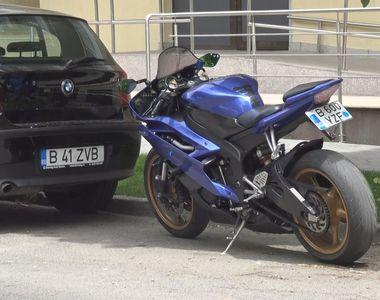 Si-a lasat motocicleta pornita si a mers la cumparaturi! Oricine se putea sui pe sa si...