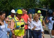 """Primarul Gabriela Firea a descoperit probleme uriase la un proiect major pentru Capitala: """"O lucrare ce trebuia terminata in cinci ani n-a fost finalizata nici dupa noua ani!"""""""