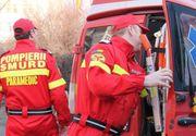 Bistrita: Un copil de 3 ani a fost transportat la spital dupa ce a cazut de la 15 metri inaltime