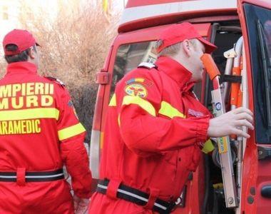 Bistrita: Un copil de 3 ani a fost transportat la spital dupa ce a cazut de la 15 metri...