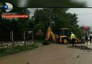 Natura s-a dezlantuit si a facut prapad in mai multe localitati din tara. 50 de gospodarii au fost inundate in Maramures