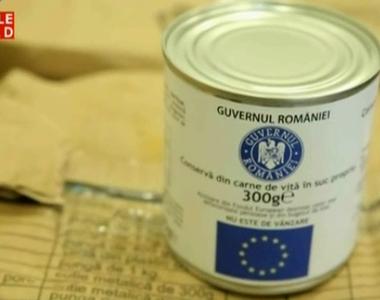 Strigator la cer. Alimentele trimise de UE pentru nevoiasi sunt depozitate la 40 de...