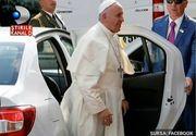 """Papa Francisc, laudat de taximetristii romani dupa ce s-a plimbat in Armenia cu o masina romaneasca: """"Nu vrea pantofi din aur si nici lux"""""""