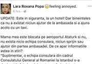 Cativa romani au fost blocati pe aeroportul din Istanbul. Celula de criza la Consulatul Romaniei din Turcia