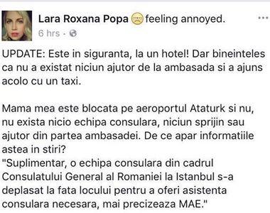 Cativa romani au fost blocati pe aeroportul din Istanbul. Celula de criza la Consulatul...
