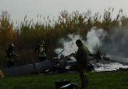 Pilotul italian al avionului prabusit in judetul Brasov a murit la Spitalul Judetean de Urgenta Targu Mures