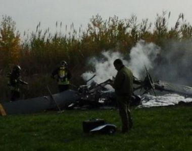 Pilotul italian al avionului prabusit in judetul Brasov a murit la Spitalul Judetean de...