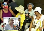 Imagini revoltatoare filmate in fata Casei de Asigurari de Sanatate. Batrani bolnavi, care au nevoie de ingrijiri la domiciliu, au asteptat ore in sir sa-si depuna dosarul