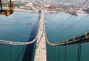 Succes bifat de metalurgia romaneasca. Al doilea pod ca marime din Europa, facut cu otel de la Galati