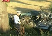 Accident mortal pe o sosea din Arad. Politistii se gandesc la o sinucidere