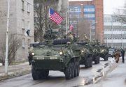 Aproape 1.000 de soldati americani vor ajunge in Romania. SUA trimite la baza de la Kogalniceanu vehicule blindate si teancuri din brigada sa mecanizata pe care o dispune in Europa