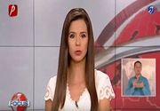 Gafa la Prima TV. O prezentatoare a izbucnit in ras in timp ce citea o stire despre copii in sevraj